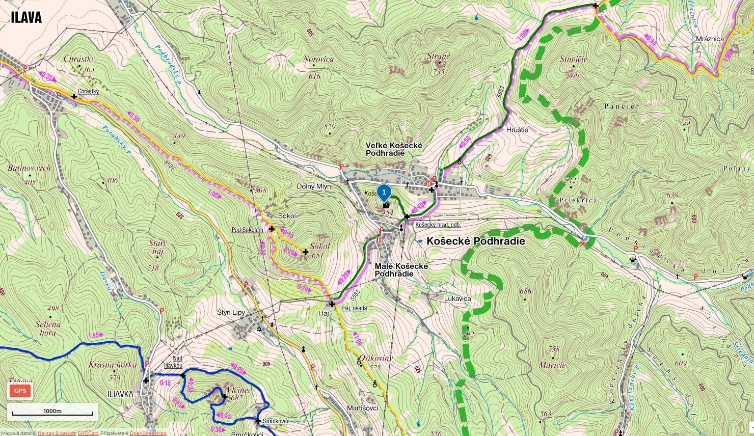 05-Kosecky-hrad-mapa