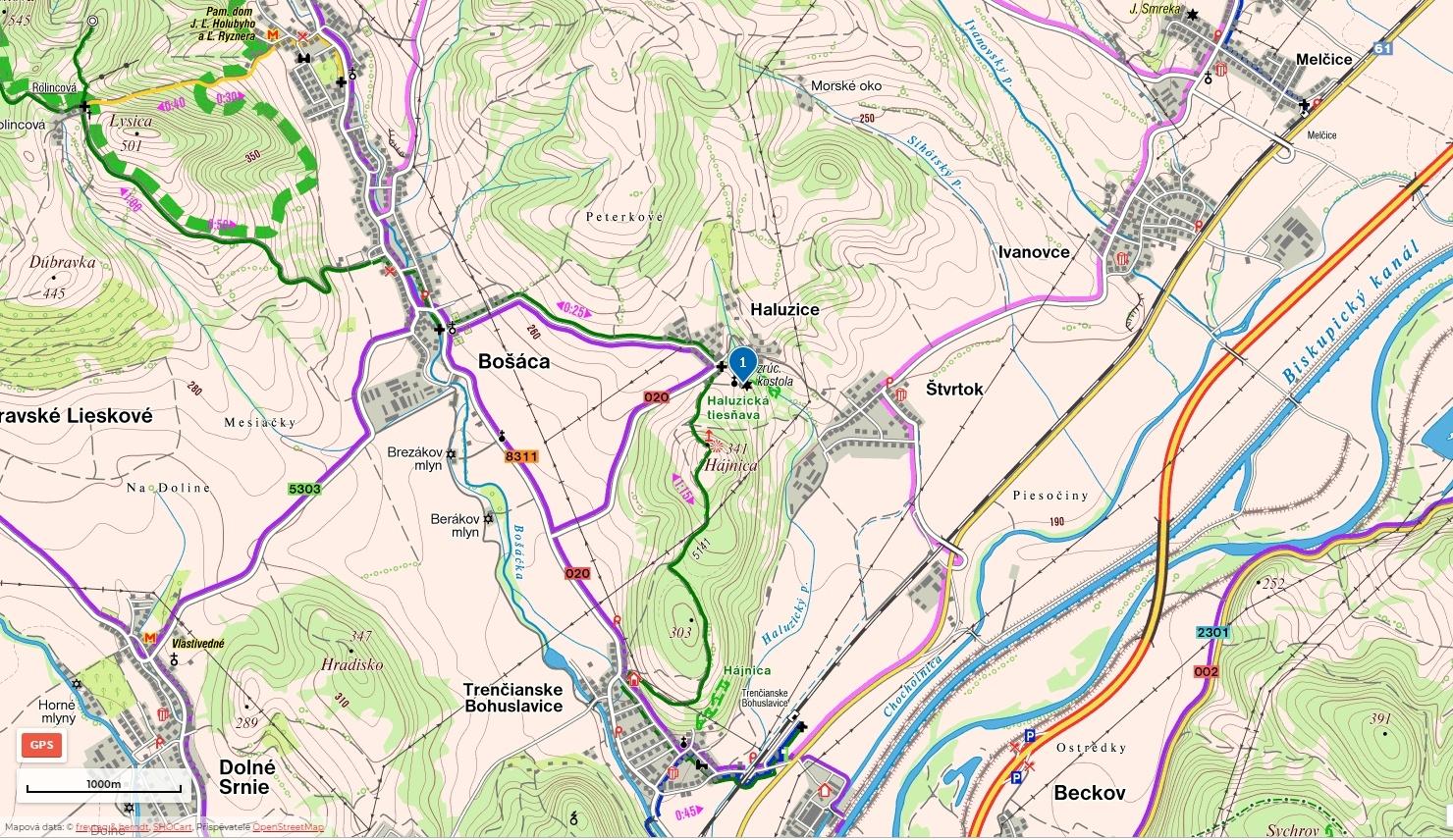 08-Romansky-kostolik-Haluzice-mapa