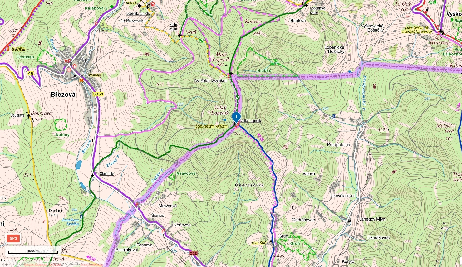 11-Rozhladna-Lopenik-mapa