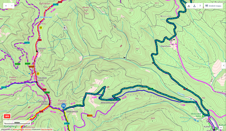 VKT2021_11_PanskaJavorina_mapa